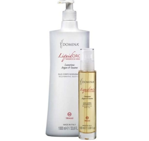 Domina Liquid Oro Massage & Caress Luxurious Argan & Sesame